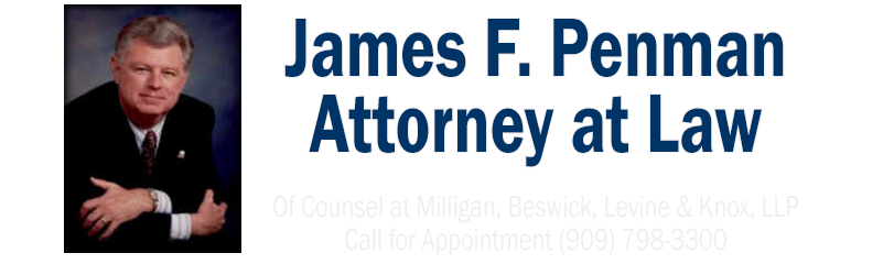 James F. Penman - Attorney At Law
